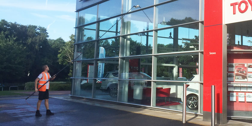 Commercial Window Cleaning Dall Window Cleaning Fareham