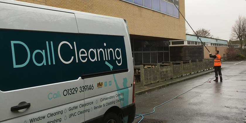 Gosport Window Cleaning Bay House School